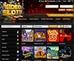 Video Slots casino homepage